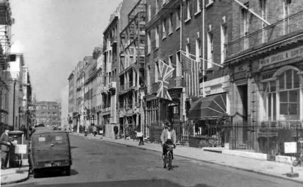 Сэвил-Роу, Лондон. 1955г.