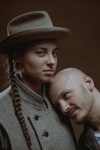 мужчина и женщина портрет