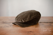 Green Sean Corduroy Cap by Hanna Hats