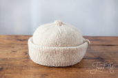 White Monmouth Cap by Ye Olde Cappe