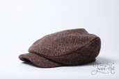 Brown Tweed Mayakovskaya Cap by Old Pal