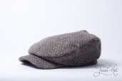 Grey Tweed Mayakovskaya Cap by Old Pal