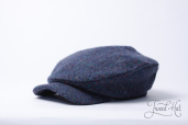 Blue Tweed Mayakovskaya Cap by Old Pal