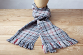 Balmoral Tartan Handwoven Scarf by Old Pal