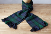 Blackwatch Tartan Handwoven Scarf by Old Pal