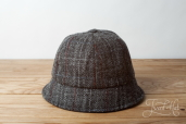 Grey Limerick Tweed Hat by Hanna Hats