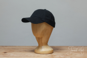 Black Cotton Stetson Baseball Cap