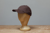 Brown Cotton Stetson Baseball Cap