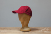 Red Cotton Stetson Baseball Cap