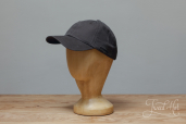 Grey Cotton Stetson Baseball Cap