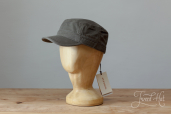 Green Cotton Stetson Army Cap