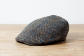 Donegal Harris Tweed Touring Cap No.5 by Hanna Hats