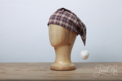 Flannel Claret Check Nightcap SF4 by Lee Valley