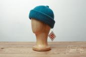 Turquoise Monmouth Cap by Ye Olde Cappe