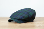 Blackwatch Tartan Sean Cap by Hanna Hats