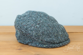 Grey Tweed Child Cap by Hanna Hats