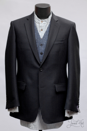 Black Tweed Jacket by Magee 1866
