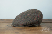 Brown Tweed Child Cap by Hanna Hats