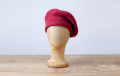 Cherry Tam O'Shanter Bonnet by Ye Olde Cappe