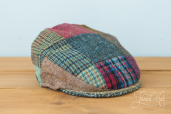 Patchwork Tweed Child Cap by Hanna Hats