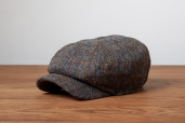 Kells Tweed 8-piece Cap No.5 by Hanna Hats