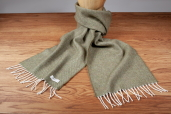 Moss Lambswool Scarf by McNutt of Donegal