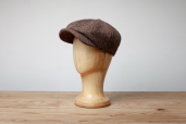 Brown Woods Tweed 8-piece Cap by Hanna Hats