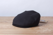 Black Tweed Vintage Cap by Hanna Hats