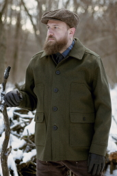 Olive Mackinaw Coat Stormy Kromer