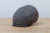 Grey Donegal Tweed 6-piece Cap by City Sport