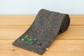 Brown Tweed Scarf by Hanna Hats