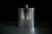 Big Hip 6oz Pewter Flask by Mullingar Pewter