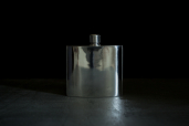 Small Hip 4oz Pewter Flask by Mullingar Pewter