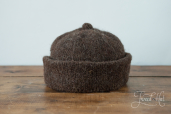 Brown Monmouth Cap by Ye Olde Cappe
