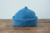 Blue Monmouth Cap by Ye Olde Cappe