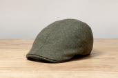 Olive Erin 6-piece Harris Tweed Cap by Hanna Hats