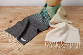 Jasmine Ombre Lambswool Scarf by McNutt of Donegal