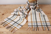 Milk and Honey Lambswool Scarf by McNutt of Donegal