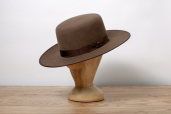 Brown Buffalo Felt Western Hat Austral Old West 4X by Stetson