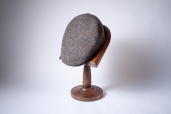 Grey-Brown Donegal Tweed Cap 1960 by City Sport