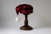 Flannel Red and Black Buffalo Plaid Nightcap LV9 by Lee Valley