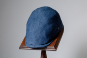 Navy Linen 6-piece Cap 1969 by City Sport