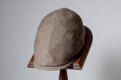 Brown Linen 6-piece Cap 1969 by City Sport