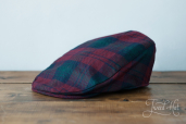 Tartan Tailor Cap by Hanna Hats