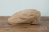 Light Corduroy Vintage Cap by Hanna Hats