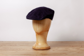 Blue Corduroy Tailor Cap by Hanna Hats