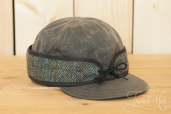 Waxed Cotton Harris Tweed Stormy Kromer Cap