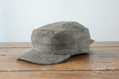 Stormy Kromer Field Cap Harris Tweed